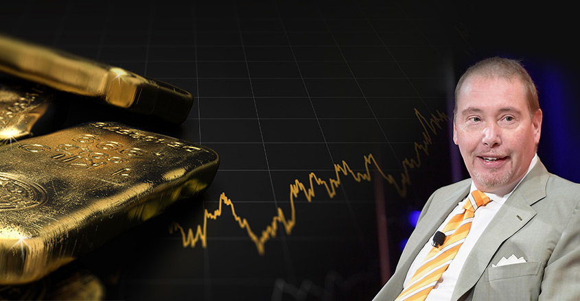 Billionaire Gundlach: I actually think owning 25% gold GOLD isn't crazy right now.